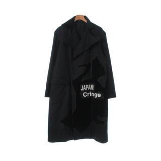 ヨウジヤマモト(Yohji Yamamoto)のyohji yamamoto pour homme 17aw 侍刺繍コート(チェスターコート)