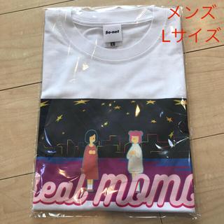 ソニー(SONY)のリアルモモ Tシャツ Lサイズ ソニー ソネット 当選品 最上もが オカモトズ(Tシャツ/カットソー(半袖/袖なし))