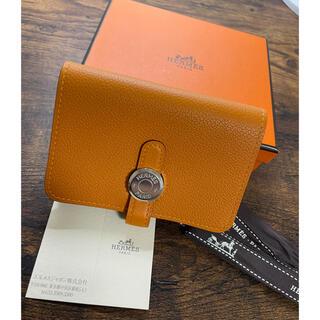 Hermes - 美品 HERMES ドゴン カードケース エルメス カルヴィ バスティア 財布