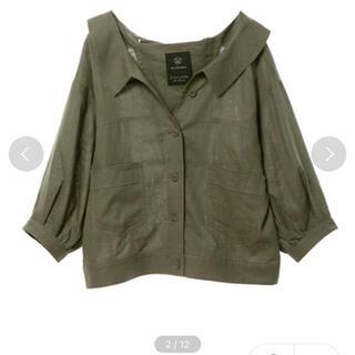 ダブルクローゼット(w closet)のリネンシャツ(Gジャン/デニムジャケット)