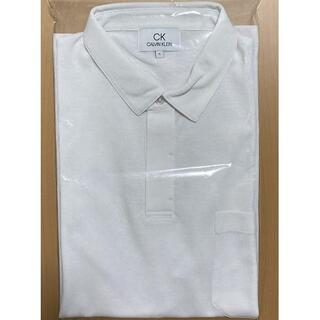シーケーカルバンクライン(ck Calvin Klein)のカルバンクライン ビジネス ポロシャツ ホワイト系 2L(XL相当?)(ポロシャツ)