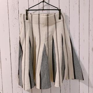 ラグナムーン(LagunaMoon)の LAGUNAMOON ラグナムーン ニットスカート(ひざ丈スカート)