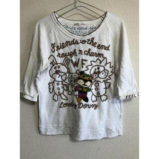 ラフ(rough)の希少☆rough 七分袖T(Tシャツ(長袖/七分))