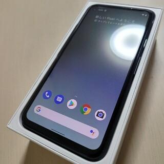 グーグル(Google)のGoogle Pixel 4a 128GB simフリー(スマートフォン本体)