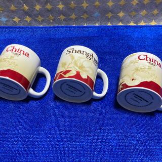 スターバックスコーヒー(Starbucks Coffee)のお買得♪ スターバックス  中国 上海 デミマグカップ  3個セット(マグカップ)