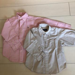 POLO RALPH LAUREN - ラルフローレン コムサ  100cmシャツ
