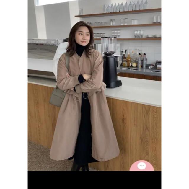 ZARA(ザラ)のバースデーバッシュ フリルジャンパー レディースのジャケット/アウター(ロングコート)の商品写真