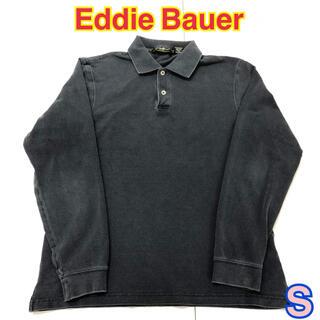 177 USA 古着 Eddie Bauer 長袖 ポロシャツ S