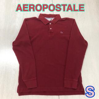 エアロポステール(AEROPOSTALE)の178 USA 古着 AEROPOSTALE 長袖 ポロシャツ S(ポロシャツ)