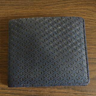 インデンヤ(印傳屋)の印傳 二つ折財布(折り財布)