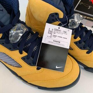 NIKE Air Jordan 5 Retro SE 'Michigan' 25(スニーカー)