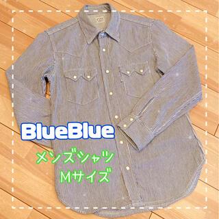 ブルーブルー(BLUE BLUE)のBlueBlue ブルーブルー メンズシャツ Mサイズ(シャツ)