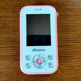 ドコモ キッズ携帯 HW-01G  ピンク(携帯電話本体)