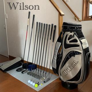 wilson - ⛳️初心者用メンズゴルフセット豪華10本🏌️♂️Wilsonブランド