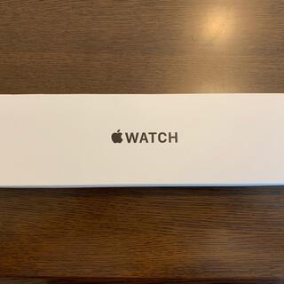 アップルウォッチ(Apple Watch)のApple Watch SE ブラック空箱 スペアバンド付(その他)