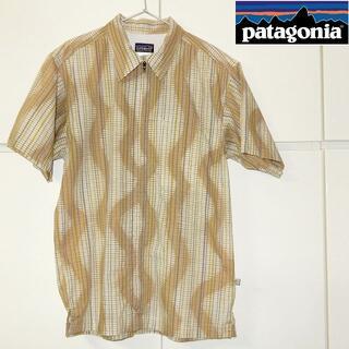 パタゴニア(patagonia)のパタゴニア|Patagonia ジップアップ 半袖シャツ(シャツ)
