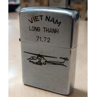ジッポー(ZIPPO)の【ベトナムZIPPO】本物 1968年製ベトナムジッポー ヴィンテージ ヘリ(タバコグッズ)