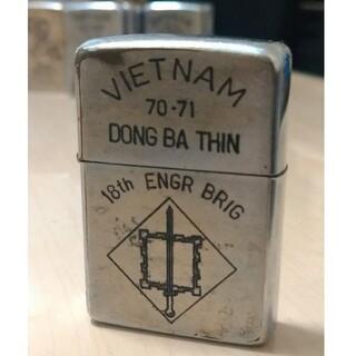 ジッポー(ZIPPO)の【ベトナムZIPPO】本物 1970年製ベトナムジッポー ヴィンテージ(タバコグッズ)