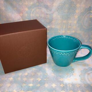 スターバックスコーヒー(Starbucks Coffee)の激レア スターバックス  アフリカ ターコイズブルー マグカップ  (マグカップ)