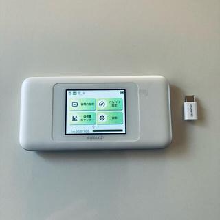 ファーウェイ(HUAWEI)のHUAWEI UQ WiMAX2 Speed Wi-Fi NEXT W06(その他)