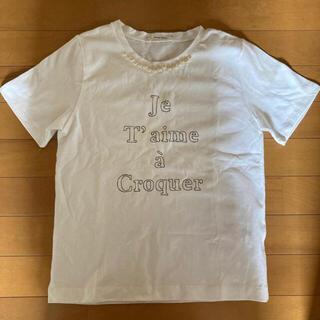 ルクールブラン(le.coeur blanc)の[新品・未使用] トップス(Tシャツ(半袖/袖なし))