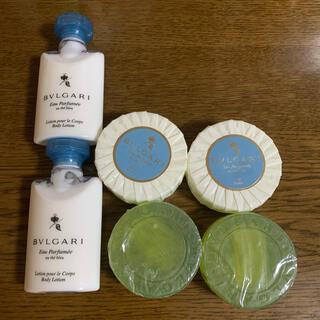ブルガリ(BVLGARI)のブルガリ ボディークリーム 石鹸セット(ボディソープ/石鹸)