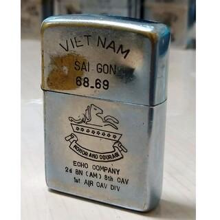 ジッポー(ZIPPO)の【ベトナムZIPPO】本物 1968年製ベトナムジッポー ヴィンテージ(タバコグッズ)
