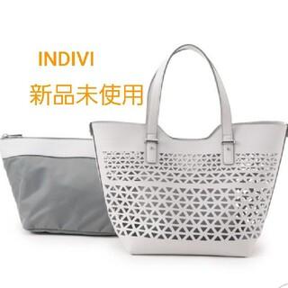 インディヴィ(INDIVI)の新品未使用★INDIVI★トートバッグ  [ 5月末までの出品 ](トートバッグ)