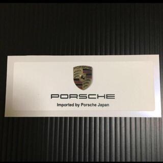 Porsche - ポルシェ リアウインドウ ステッカー