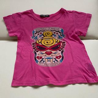 ヒステリックミニ(HYSTERIC MINI)のヒスミニ 半袖シャツ 120(Tシャツ/カットソー)