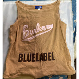 バーバリーブルーレーベル(BURBERRY BLUE LABEL)のBURBERRY タンクトップ(タンクトップ)