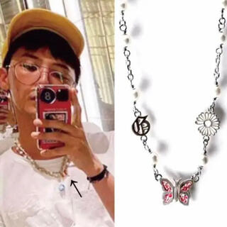 PEACEMINUSONE - ジヨン着用 GD butterfly necklace