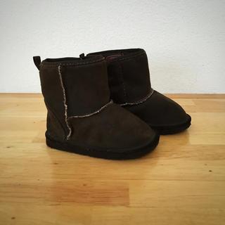 ベビーギャップ(babyGAP)のbabyGap ムートンブーツ こげ茶色(ブーツ)