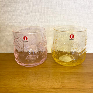 イッタラ(iittala)のイッタラ フルッタ レモン&ペールピンク(グラス/カップ)