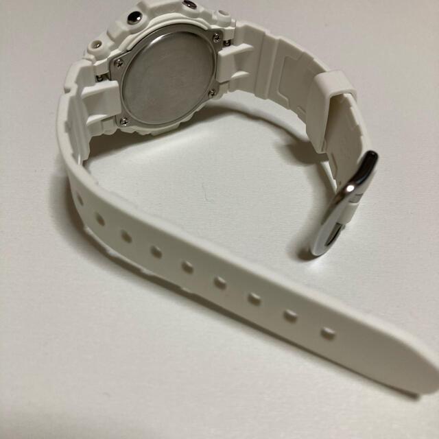 Baby-G(ベビージー)のCASIO BABY-G 腕時計 ホワイト ピンク レディースのファッション小物(腕時計)の商品写真