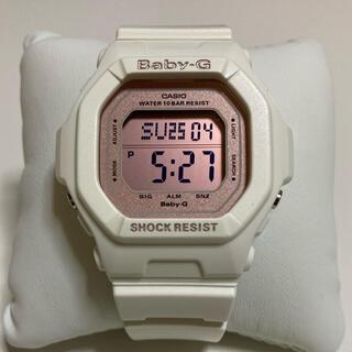 Baby-G - CASIO BABY-G 腕時計 ホワイト ピンク