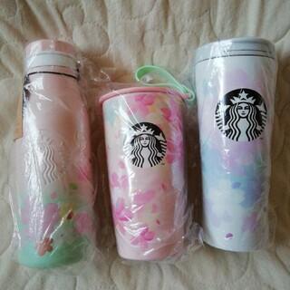 スターバックスコーヒー(Starbucks Coffee)のSTARBUCKS スタバ福袋2021 SAKURステンレスタンブラー3点セット(タンブラー)