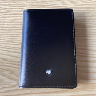 モンブラン(MONTBLANC)の美品 モンブラン カードケース(名刺入れ/定期入れ)