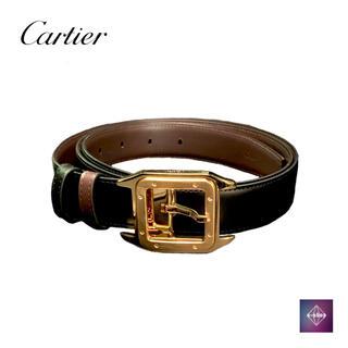 カルティエ(Cartier)の【未使用品】 カルティエ サントス リバーシブル ベルト L5000420(ベルト)