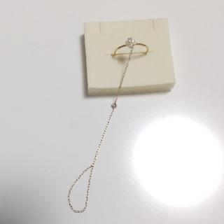サマンサティアラ(Samantha Tiara)のサマンサティアラ 紗栄子コラボ チェーンリング 11号(リング(指輪))