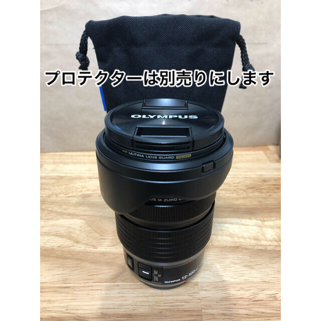 OLYMPUS(オリンパス)のM.ZUIKO DIGITAL ED 12-100mm F4.0 IS PRO スマホ/家電/カメラのカメラ(レンズ(ズーム))の商品写真