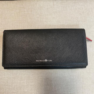 パトリックコックス(PATRICK COX)の最終値下げ 未使用 パトリックコックス 長財布 黒(長財布)