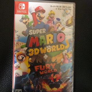ニンテンドースイッチ(Nintendo Switch)のスーパーマリオ3Dワールド フューリーワールド(家庭用ゲームソフト)