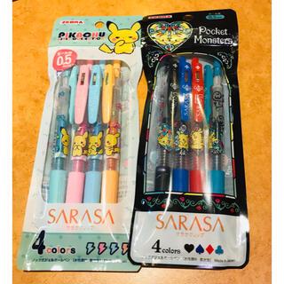 サラサ(さらさ)のポケモン サラサ クリップボールペン sarasa コラボ限定!新品未使用(ペン/マーカー)