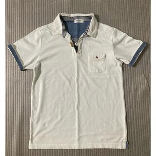 バックナンバー(BACK NUMBER)の【BACK  NUMBER】メンズ半袖ポロシャツ(ポロシャツ)