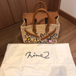 Nina mew - nina mew カゴバック