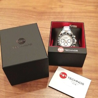 TECHNOS - 【新品 未使用】TECHNOS テクノス 腕時計 TSM411TW 男性用
