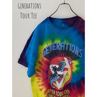 【ビッグサイズ】 GENERATIONS JAPAN TOUR Tシャツ XL