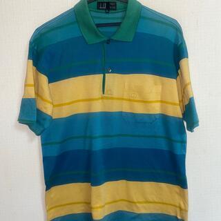 ダンヒル(Dunhill)のdan-hillダンヒル半袖ポロシャツ(ポロシャツ)
