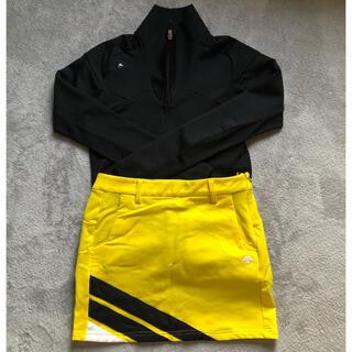 DESCENTE - デサント ゴルフ スカート Sサイズ61